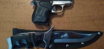 У райцентрі Волині 33-річний чоловік їздив зі зброєю