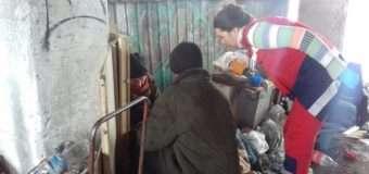 У Луцьку рятувальники надали допомогу напівпритомній жінці, яка мало не замерзла біля смітника