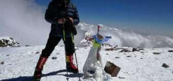 Альпініст, який родом з Волині, підкорив найвищу гору Південної Америки