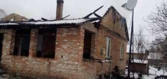 Через недоліки конструкції димаря у селі на Волині горів житловий будинок