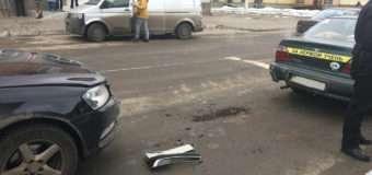 У Нововолинську на світлофорі в учбове авто врізався легковик