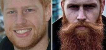 Борода кардинально змінила життя чоловіка