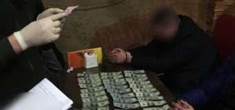 На Волині майор СБУ попався на вимаганні та одержанні хабаря розміром 3 тисячі доларів
