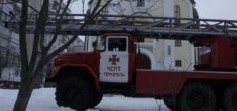 У Тернополі чоловік хотів вчинити самогубство, стрибнувши з церковної дзвіниці