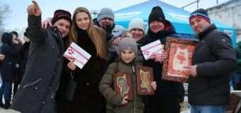 На Масляну в Нововолинську збирали коштидля онкохворого Романа Гальчика
