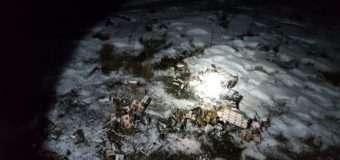 На Волині, втікаючи від прикордонників, контрабандисти спробували спалити сигарети