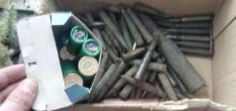 За добу поліцейські вилучили у волинян понад 100 набоїв різного калібру та вибухівку. Фото