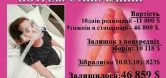 Мама Насті Абрамчук записала відео з проханням про допомогу