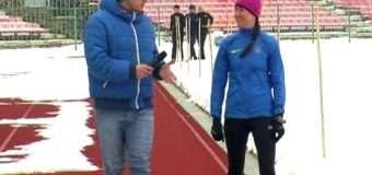 Показали, як готуються до зимового чемпіонату України зі спортивної ходьби волинські спортсмени