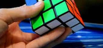 Більше сорока лучан змагалися, хто швидше складе кубик Рубіка