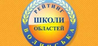 5 волинських шкіл увійшли в сотню найкращих в Україні