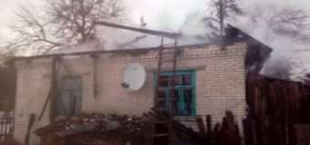 На Волині під час пожежі в будинку загинув чоловік