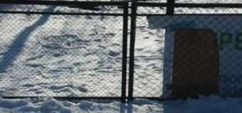 У Луцьку невідомі потрощили шкільний стадіон