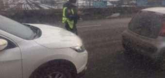 У Луцьку на мосту зіткнулись три автівки