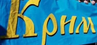 У Луцьку відбувся флешмоб «Крим – це Україна», під час якого утворили «живий» ланцюг