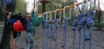 У Луцьку з'явився ще один мотузковий парк