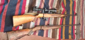 У селі на Волині пенсіонер у своєму помешканні ховав спортивно-мисливську гвинтівку, багатозарядний мисливський карабін та набої