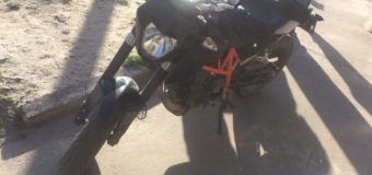 На Волині патрульні переслідували п'яного водія на краденому мотоциклі