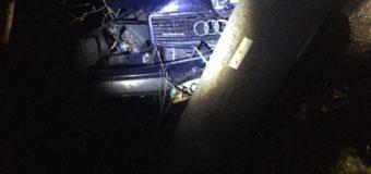 На Волині п'яний водій врізався в електроопору