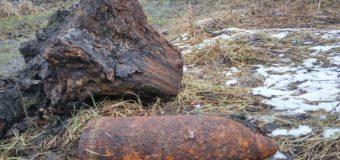 На Волині селянин під час земляних робіт на присадибній ділянці натрапив на артилерійський снаряд
