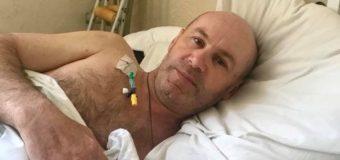 Військовий 14-ї ОМБр підірвався на розтяжці в зоні АТО. Його прооперували в Київському госпіталі