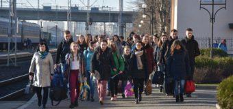 У Луцьк на Великодні канікули приїхали діти з Волновахи