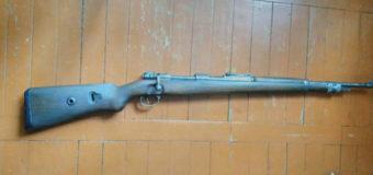 У волинян поліцейські виявили та вилучили відреставровану гвинтівку, гранату та набої