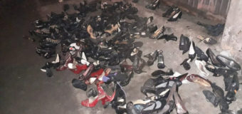 Невідомий подарував луцьким безхатькам взуття на підборах