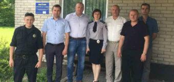 У Володимир-Волинському районі запрацювала поліцейська станція