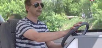 Вперше за 40 років по річці Стир проплив прогулянковий катер. ВІДЕО