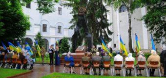 У Луцьку на Замковій площі вшанували пам'ять жертв політичних репресій