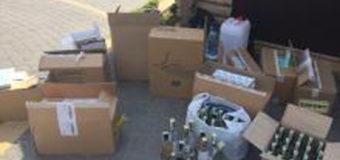 У будинку ковельчанки виявили склад фальсифікованого тютюну й алкоголю