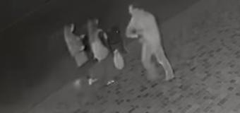 Вночі у Рожищі хуліган вдарив дівчину пляшкою. ВІДЕО