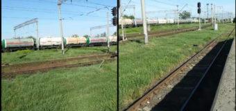 Через Волинь вагонами-цистернами перевозять російський газ. ВІДЕО