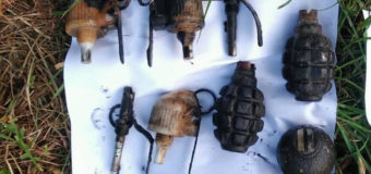 Показали боєприпаси, які знайшли в мішку на дні водойми в Іваничівському районі