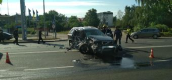 У Луцьку сталася ДТП за участю позашляховика та автобуса