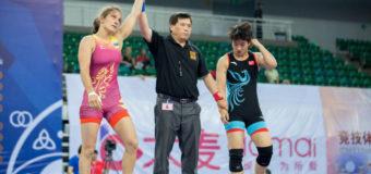 Волинянка перемогла на Чемпіонаті з вільної боротьби у Китаї. ВІДЕО