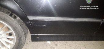 У Ковелі патрульні знайшли автопорушника на BMW, який врізався в легковика й утік