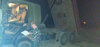 У Луцьку біля річки чоловік посеред ночі скидав будувельне сміття
