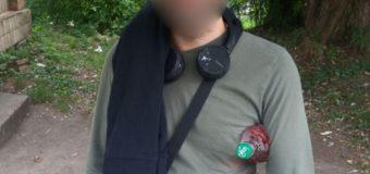 У Луцьку патрульні виявили двох чоловіків з наркотиками