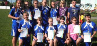 На Волині визначили найкращу дівчачу команду з футболу