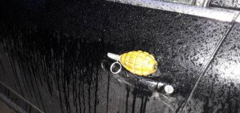 Поліція розслідує факт виявлення учбової гранати на автівці волинянина