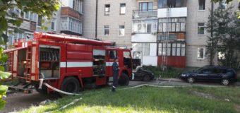 Під час пожежі у Луцькій багатоповерхівці евакуювали 13 осіб. ФОТО