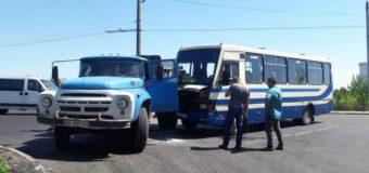 У Луцьку сталася ДТП за участю автобуса й вантажівки
