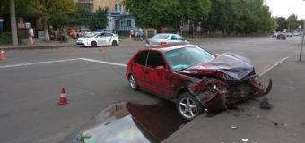 У Луцьку зіткнулися дві автівки