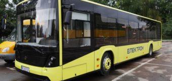 Незабаром пасажирів у Луцьку возитиме електробус