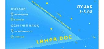 У Луцьку відбудеться фестиваль документального кіно