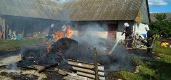 Дитячі пустощі, необережне поводження з вогнем, коротке замикання електропроводки: На Волині за добу було 4 пожежі