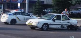 У Луцьку зіткнулися дві автівки. Постраждали водії