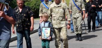У Володимирі-Волинському попрощалися з загиблим Героєм Василем Крищуком